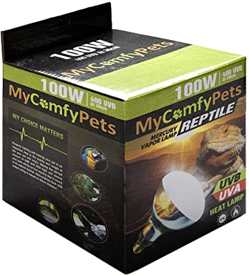 MyComfyPets UVB Light and UVA Bulb