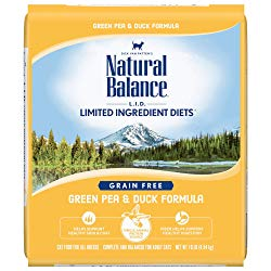 Natural Balance L.I.D. Limited Ingredient Diets Green Pea & Duck Formula Grain-Free Dry Cat Food