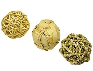 Niteangel Small Animal Trio of Fun Balls Activity Toy