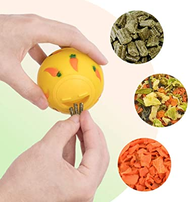 Niteangel Snack Ball Small Animal Treat Dispensing Toy