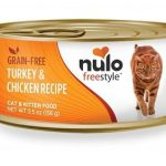 Nulo Freestyle Turkey & Chicken Recipe Grain-Free Canned Cat & Kitten Food