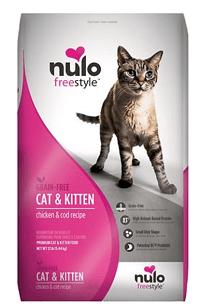 Nulo Freestyle Chicken & Cod Recipe Grain-Free Dry Cat & Kitten Food