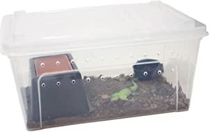 OMEM Portable Reptile Terrarium Habitat