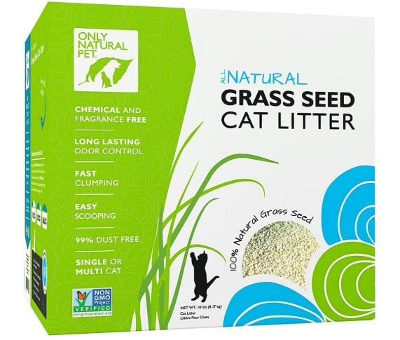 Only Natural Pet Fast Clumping Cat Litter