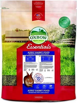 Oxbow Essentials Bunny Basics/T Adult Rabbit Food