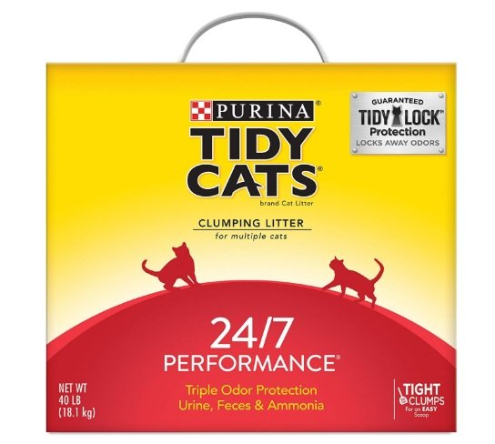 Tidy Cats 24/7 Performance Scented Clumping Clay Cat Litter