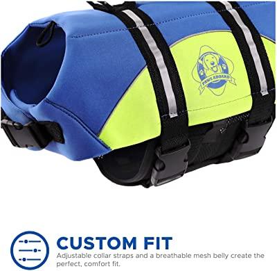 Paws Aboard Dog Life Jacket, Neoprene Dog Life Vest