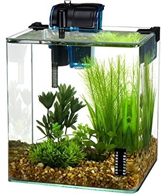 Penn Plax Vertex Desktop Aquarium Kit