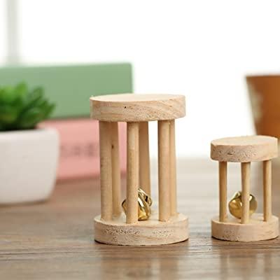 Pevor Pack of 5 Hamster Chew Toys