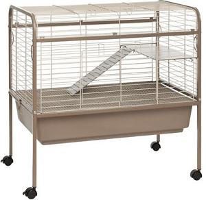 Prevue Pet Products Small Animal Cage, Coco & White