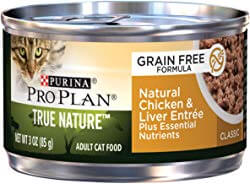 Purina Pro Plan Classic Adult True Nature Natural Turkey & Chicken Entree Cat Food