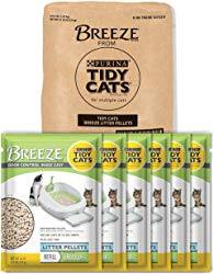Tidy Cats Breeze Cat Pads & Litter Pellets Bundle Pack