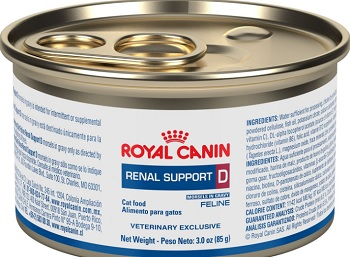 Royal Canin Veterinary Diet Renal Support D Thin Slices in Gravy Canned Cat Food