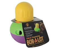 Starmark Treat Dispensing Bob-a-Lot Dog Toy