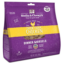 Stella & Chewy's Chick Chick Chicken Dinner Morsels Freeze-Dried Raw Cat Food