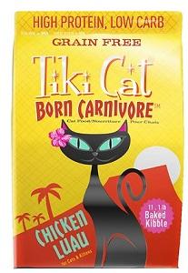 Tiki Cat Born Carnivore Chicken & Egg Grain-Free Dry Cat Food