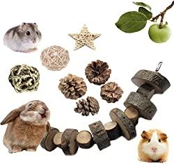 VCZONE Rabbit Chew Toys, Pet Bunny Tooth Chew Toys