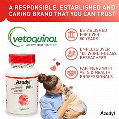 Vetoquinol Azodyl Kidney Health Supplement for Dogs & Cats