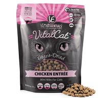 Vital Essentials Chicken Mini Nibs Entree Freeze-Dried Cat Food