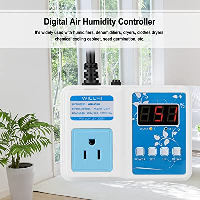 WILLHI WH1436A Temperature Controller 110V Digital Thermostat