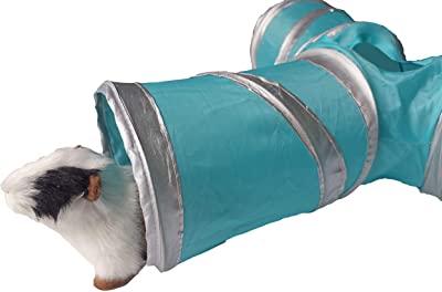 WOWOWMEOW Small Animals 3-Way Play Tunnel