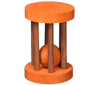 Ware Barrel Roller Wooden Rolling Chew Toy