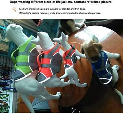 Wave Rider's Reflective Dog LifeJacket