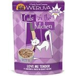 Weruva Cats in the Kitchen Love Me Tender Chicken & Duck Recipe Grain-Free Cat Food