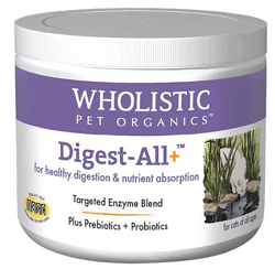 Wholistic Pet Organics Digest-All Plus Dog & Cat Supplement
