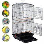 "Yaheetech 36"" Medium Portable Bird Cage"