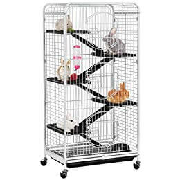 YAHEETECH 52-inch 6 Level Large Metal Ferret Cage