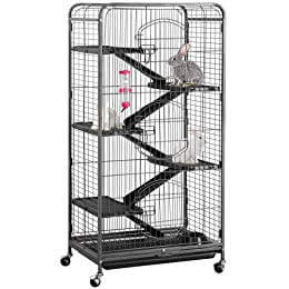 "YAHEETECH 52"" 6 Level Metal Critter Cage"
