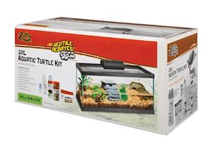 Zilla Premium Rimless Aquatic Turtle Habitat Kit