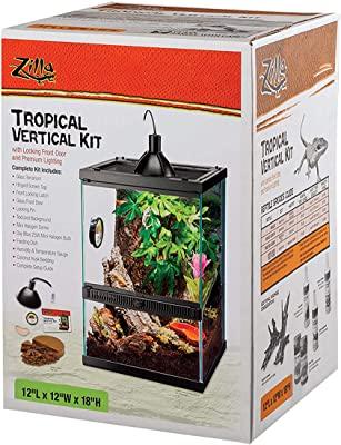 Zilla Tropical Reptile Vertical Starter Kit