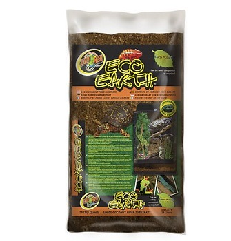 Zoo Med Eco Earth Loose Coconut Fiber Reptile Substrate