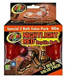 Zoo Med Nightlight Red Reptile Lamp
