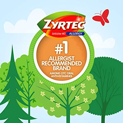 Zyrtec 24 Hour Allergy Relief