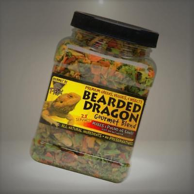 T-Rex Bearded Dragon Food Gourmet Blend