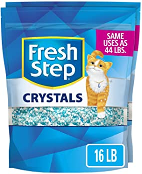Fresh Step Crystals, Premium Cat Litter