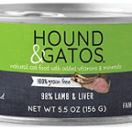 Hound and Gatos Lamb and Lamb Liver Canned Cat Food
