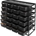 REPTI ZOO Reptile Detachable Terrarium Rack Stackable Breeding Rack Combo Project with 24PCS Breeding Boxes