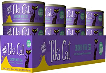 Tiki Cat Koolina Luau Chicken with Egg in Chicken Consomme Grain-Free Canned Cat Food