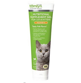Tomlyn Felovite II Nutritional Gel Cat & Kitten Supplement