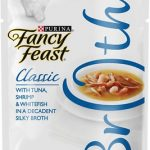 Fancy Feast Classic Broths with Tuna, Shrimp & Whitefish Cat Food Pouches
