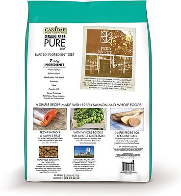Canidae Grain Free Pure Sea Cat Dry Formula With Fresh Salmon