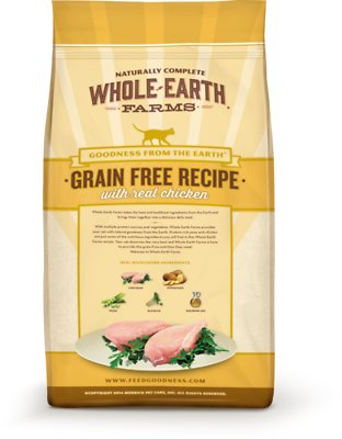 Whole Earth Farms Grain-Free Real Chicken Recipe Dry Food
