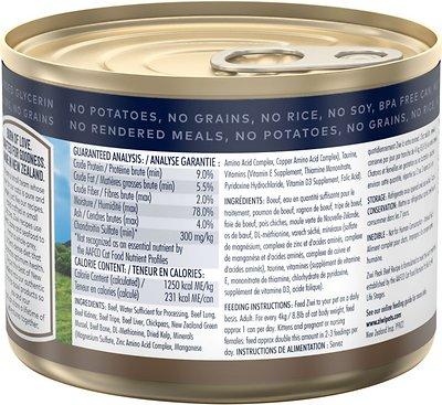 Ziwi Peak Beef Recipe Canned Cat Food