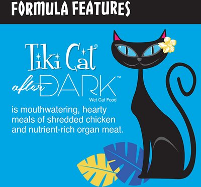 Tiki Cat After Dark Chicken & Quail Canned Cat Food