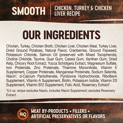Wellness CORE Natural Grain Free Chicken Turkey & Chicken Liver Pate Canned Cat Food