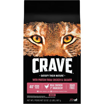 Crave Indoor with Protein from Chicken & Salmon